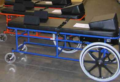 Blue Full Size Prone Cart