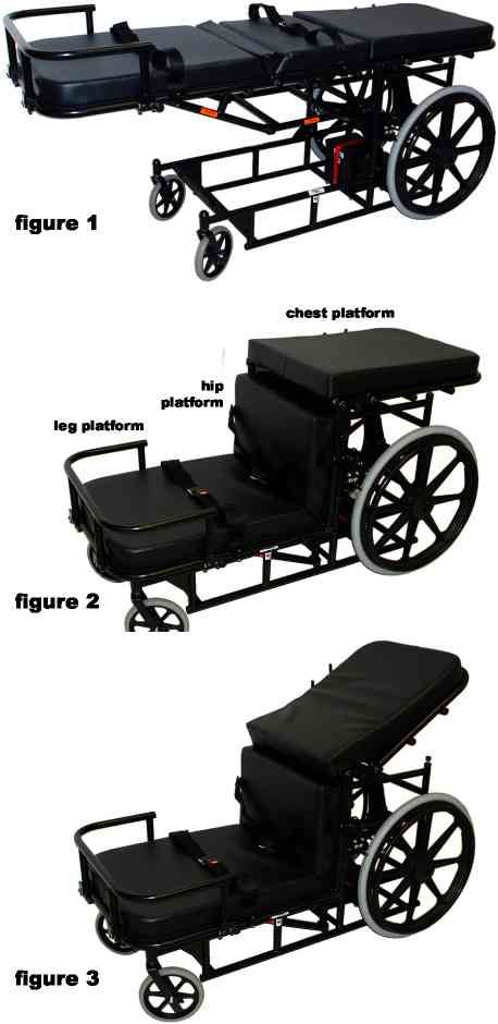 Range of Motion Prone Cart In Motion