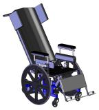 Falcon LTC MidWheel Manual Tilt Wheelchair