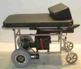 Falcon Rehab Standard Short Motorized Prone Cart